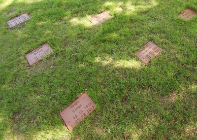 Keramikplatten für Baumgrab