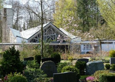 Friedhof Werste, Friedhofskapelle