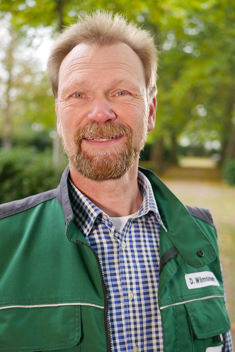 Gärtnermeister Dirk Wilmsmeier