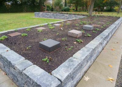 Neue Grabart Memoriamfelder als Hochbeete