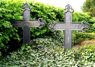 Historische Grabstätte Friedhof Auf dem Köppen