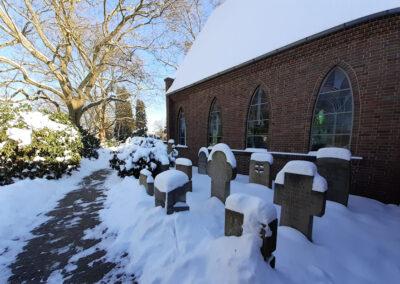 Friedhof Altstadt Schwarzer Weg – Winter